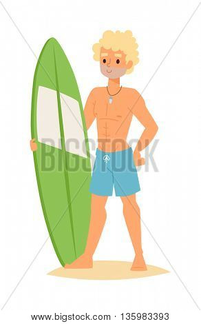 Surfing people vector boy.