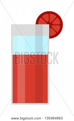 Blood mary vector illustration.