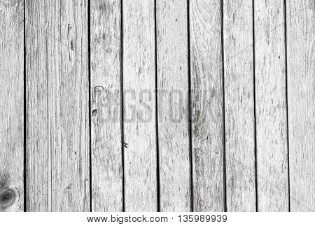 The grunge white wood texture background. Wooden planks