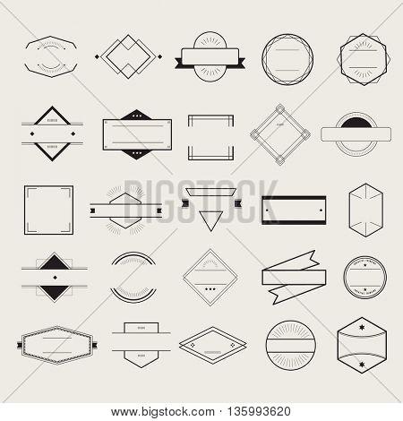 Icon Symbol Badge Logo Collection Concept
