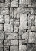 stock photo of wall-stone  - stone wall - JPG