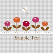 image of greeting card design  - Template frame design for greeting card - JPG