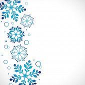 Постер, плакат: снег фон векторные иллюстрации