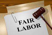 Fair Labor Legal Concept poster