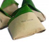 stock photo of nasi  - Traditional Malay Nasi Lemak - JPG