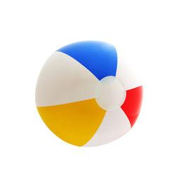 foto of beach-ball  - A photo of an isolated beach ball - JPG