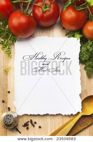 art Healthy Recipes And Meal Ideas Background
