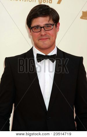 LOS ANGELES - SEP 18:  Rich Sommer arriving at the 63rd Primetime Emmy Awards at Nokia Theater on September 18, 2011 in Los Angeles, CA