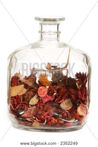 Clear Decorative Bottle