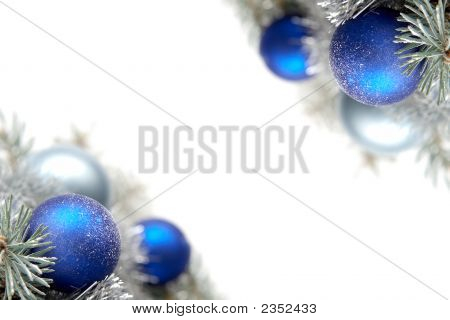 Snowy Christmas Decoration