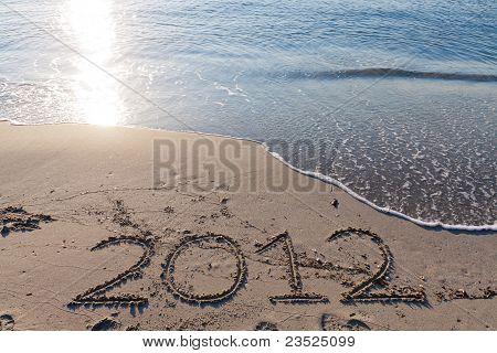 New Year 2012 On The Beach