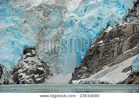 Calving On The Northwest Glacier