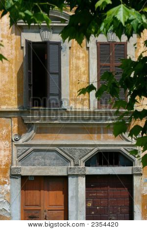 Architecture -House Detail, Italian
