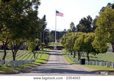 Patriotic Tombstones