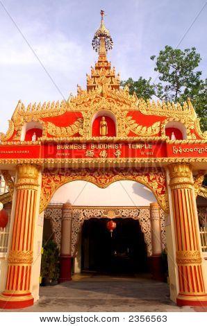 Dhammikarama Burmese Buddhist Temple Malaysia