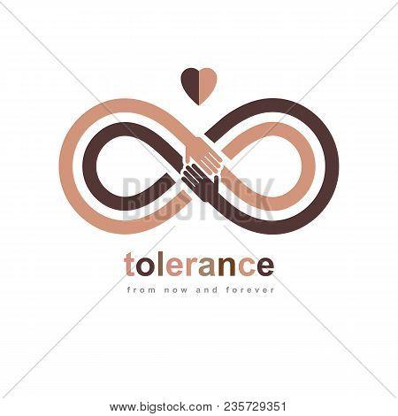 Racial Tolerance Conceptual Symbol Martin
