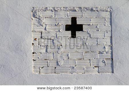 white bricks wall, urban picture