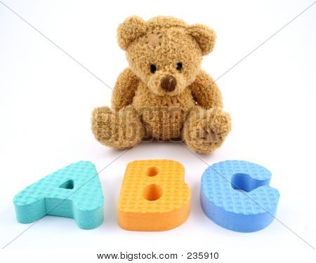 Bear And Letters