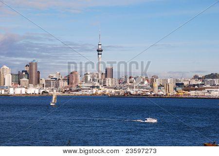 Auckland harbor, New Zealand