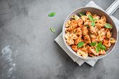 Farfalle Pasta With Chicken poster