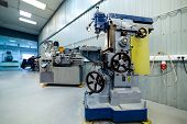 Shop For Metal Cutting. Metalworking Machines, Lathes And Vertical Milling Machines. poster