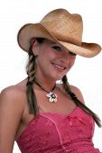 Cute Cowgirl poster