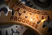Technological Progress On Mechanism Of Golden Cog Gears. Technological Progress On The Golden Gears. poster