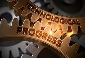 Technological Progress On Mechanism Of Golden Cog Gears. Technological Progress On The Golden Gears. poster
