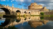 Castel Sant Angelo In Rome , Italy poster