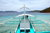 picture of olongapo  - A Banca Boat in El Nido Palawan Philippines - JPG