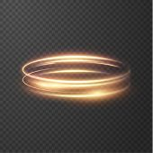Glowing Shiny Circle Lines Effect Vector Background. Eps10. Abstract Light Speed Motion Effect. Shin poster