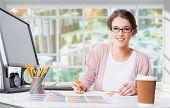 Graphic Working Designer Graphic Design Graphic Designer Home Office Digital Art poster