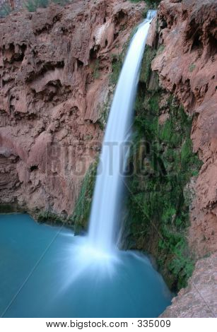 Mooney Falls, Havasu Creek.