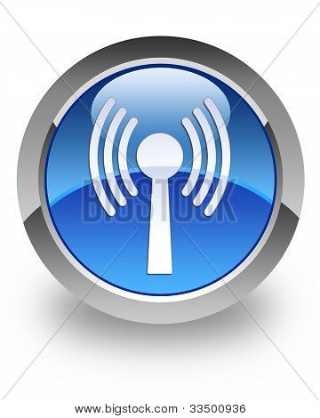 WLAN glossy icon