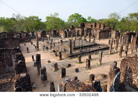 Ancient  Temple In Polonnaruwa- Medieval Capital Of Ceylon,  Sri Lanka