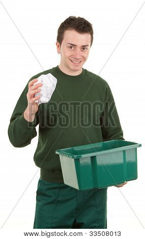 Recycling Man