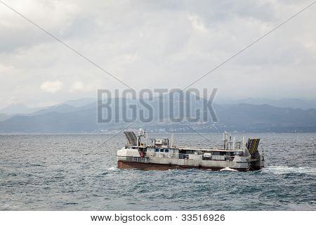 Navy Amphibious Landing Catamaran