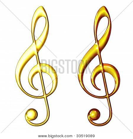Two Treble Clef