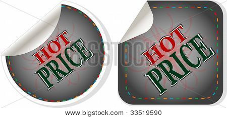 Hot Price Stickers Set