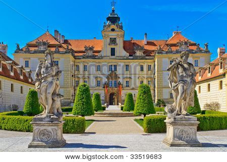 Valtice Palace, Unesco World Heritage Site, Czech Republic