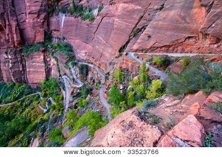 Zion Canyon Switchback Trail