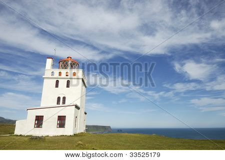 Dyrholaey Lighthouse, Iceland
