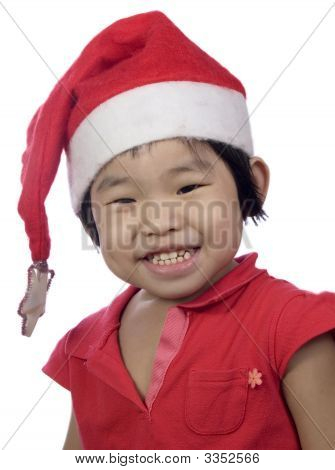 Christmas Little Girl