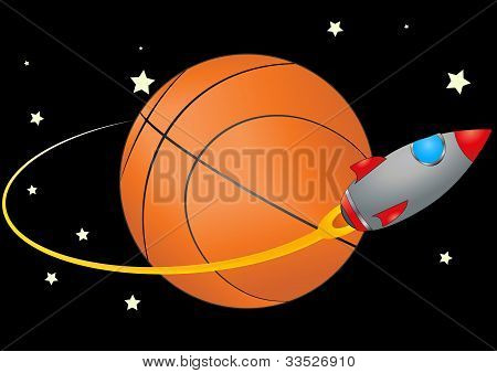 Basketball And Spacecraft