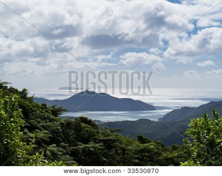 Beautiful coastal landscape, Coromandel, NZ