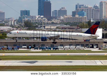 Delta Air Lines Boeing 757