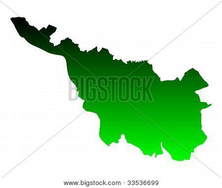 Mapa de Bremen