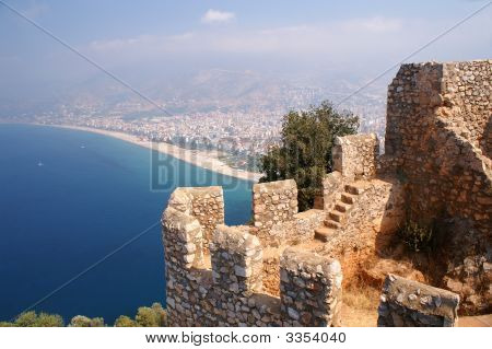 Alanya, Castle, Beach