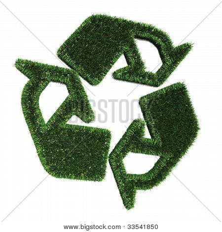 Green Recycle Illustration