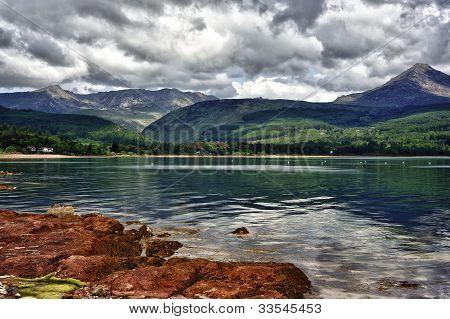 Scenery of the Isle of Aran